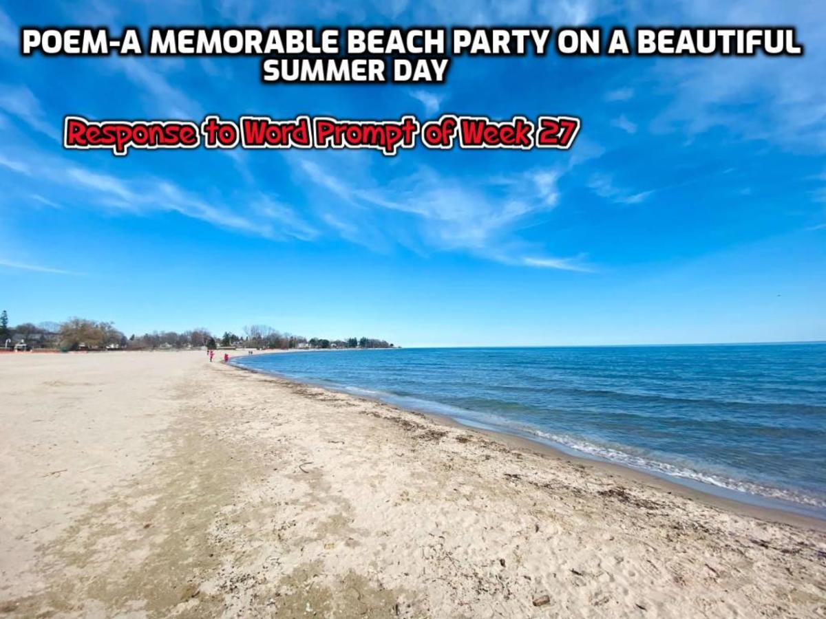 Summer means fun, friends, beach and  the sea