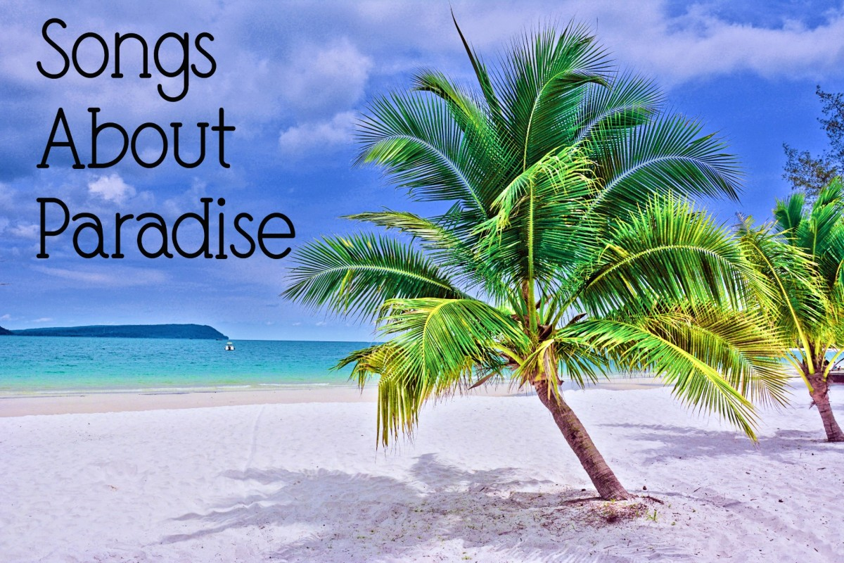 Whether your paradise is a heavenly afterlife, a travel destination, a passionate romance, a state of mind, home, or something else, make a playlist of pop, rock, country, and R&B songs that celebrate the many meanings of paradise.