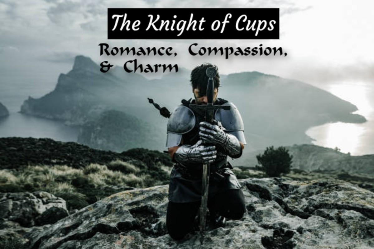 The Knight of Cups is the ideal romantic partner. This is someone who shines bright both in appearance and in virtue. It takes a special person to attract them. This person is a bright light unto others.
