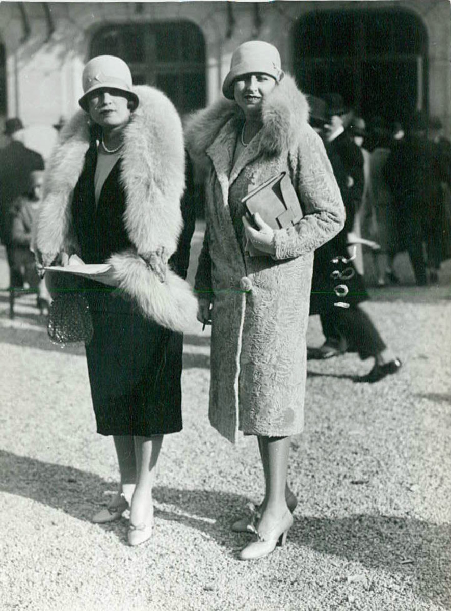 """At one time Pigeon's wife was the """"toast"""" of 5th Avenue fashion!"""