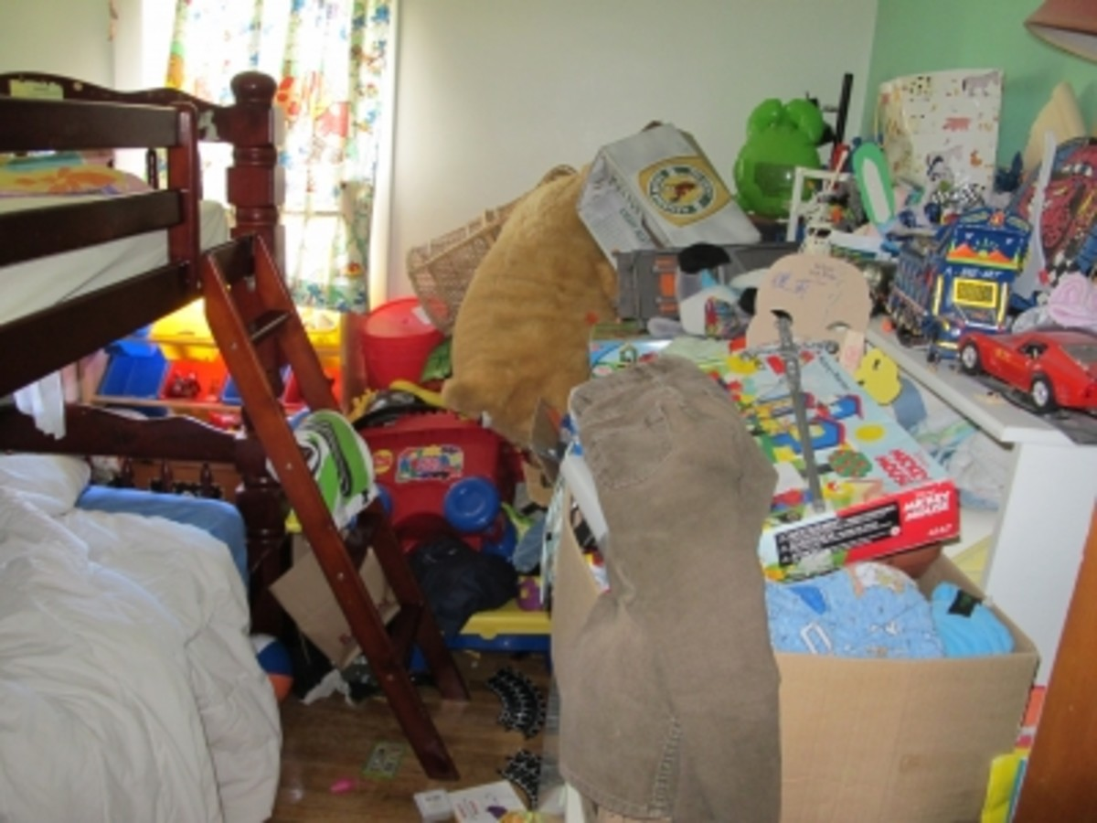Is this clutter, a fire hazard, or both?