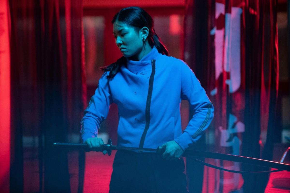 """MASUMI as Akemi in, """"Yakuza Princess."""""""