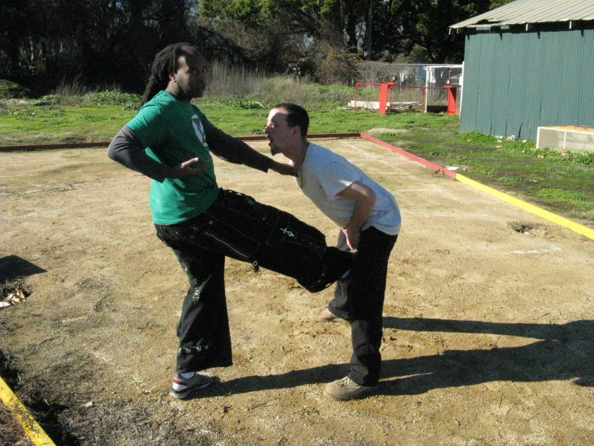 In self-defense, it is important to have knowledge of vital points on the body to strike.
