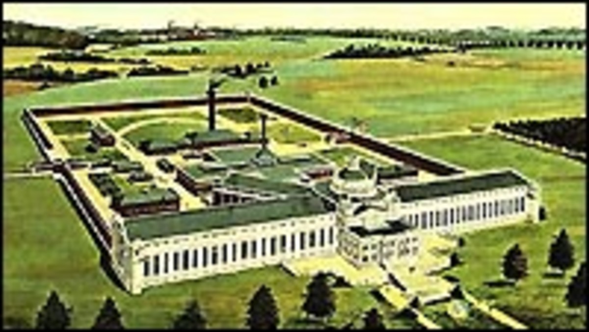 Aerial View - Leavenworth Federal Penitentiary
