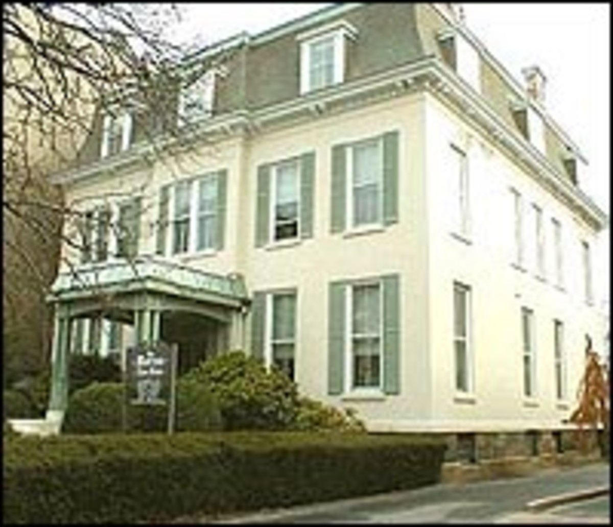 TAFT'S NEW HAVEN HOME