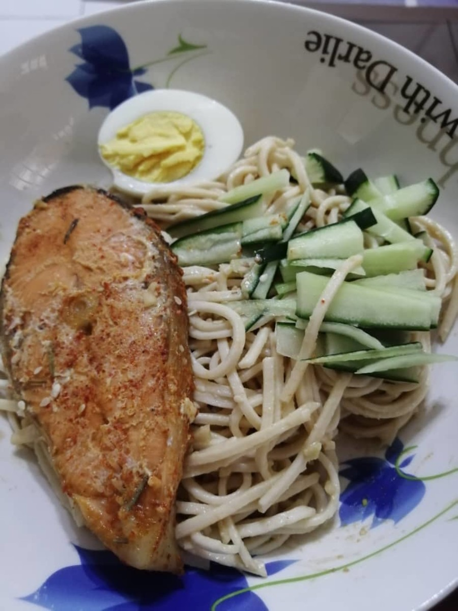 For added protein boost, serve the noodles with a side of grilled salmon or even your favorite meats