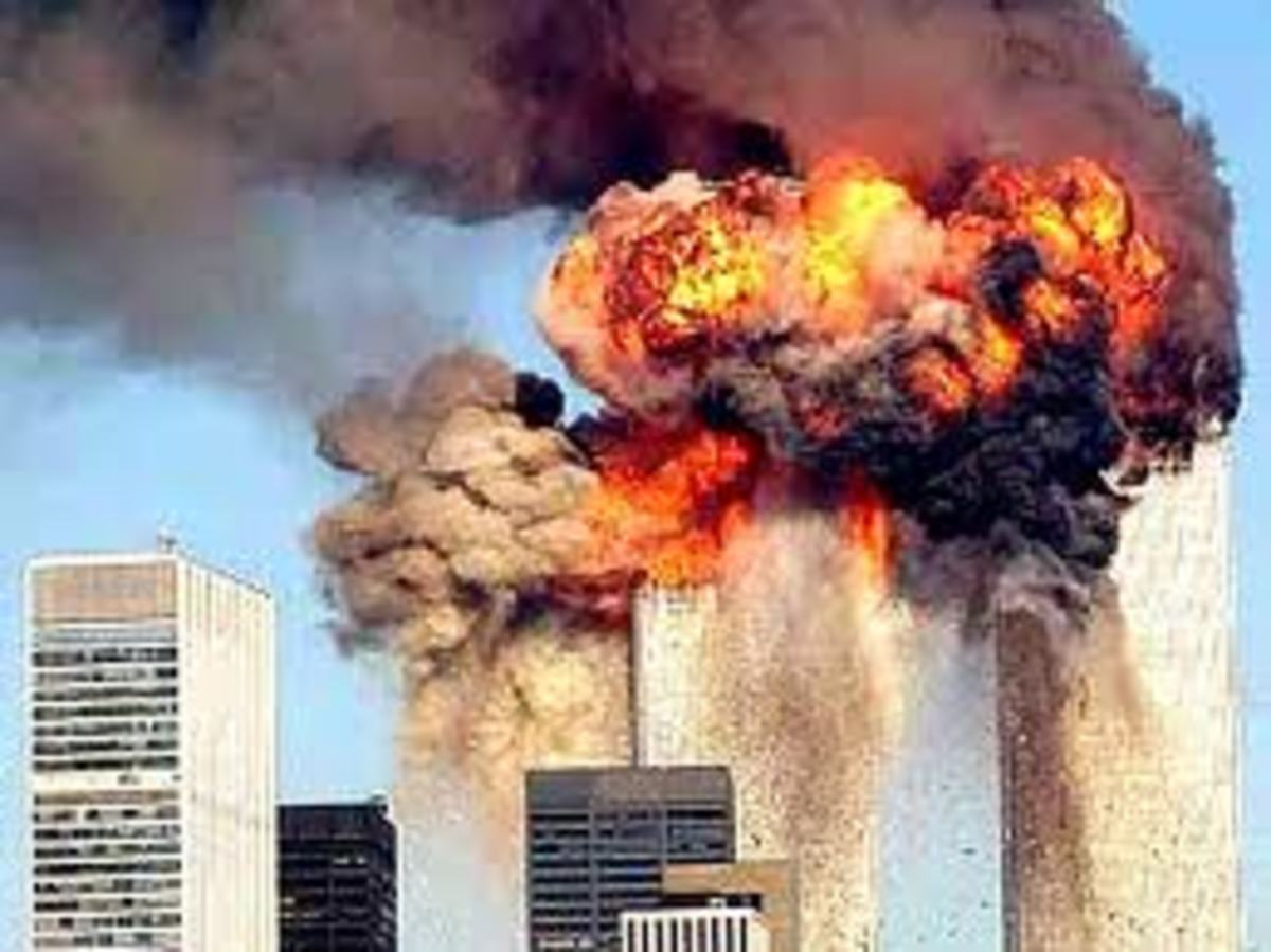 Lew illustrated the his point regarding the human condition by mentioning the 9/11 incident. Lew maintained that humankind in its present condition is on the road to self-destruction.