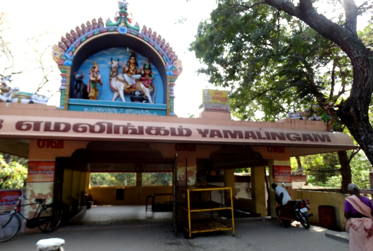 The temple of Yama Lingam