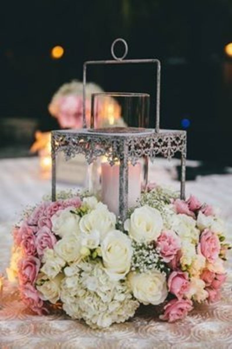 Rose Lantern-Add Romance To Your Wedding