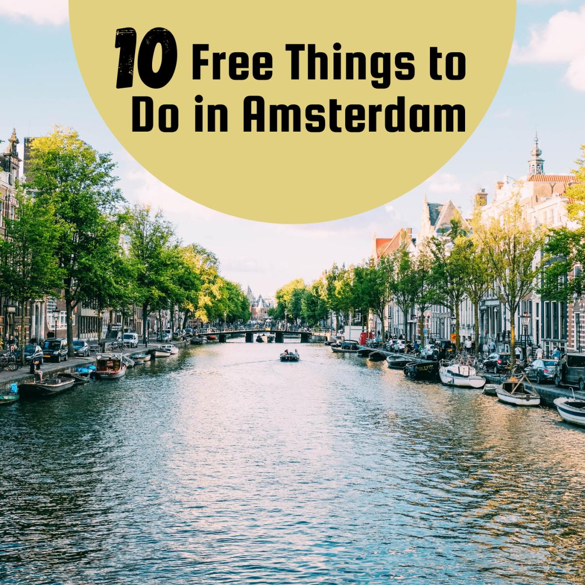 Free activites in Amsterdam