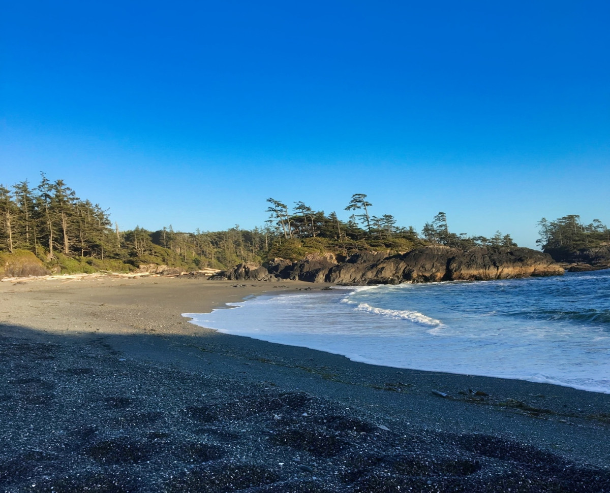 A view of South Beach in Pacific Rim National Park.
