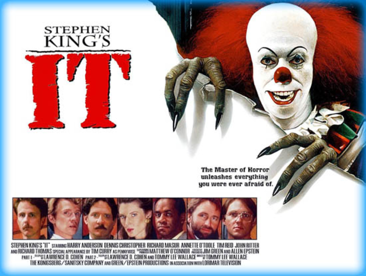 The 1990 miniseries of Stephen King's IT is not as bad as I remember and may even be scarier than the newer adaptions