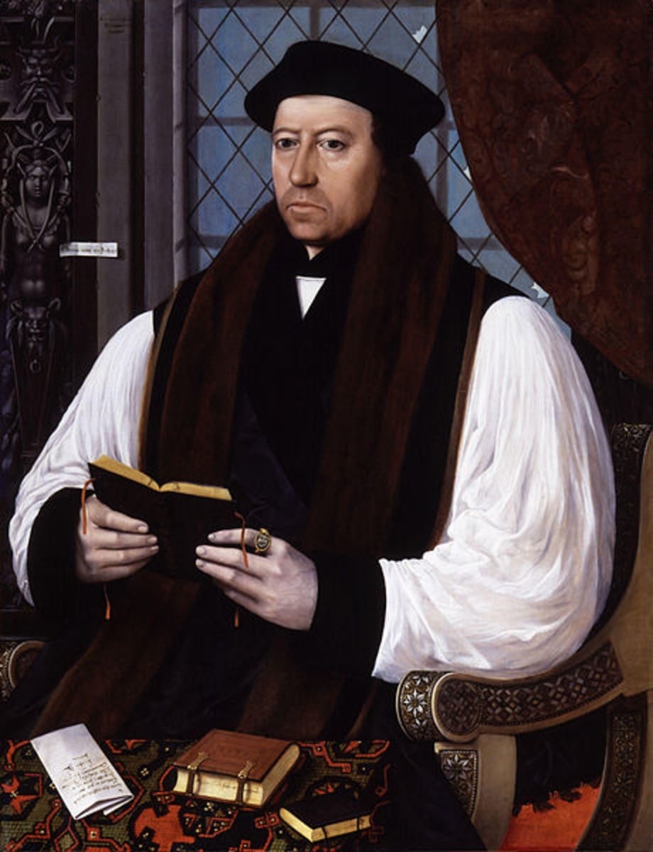 Thomas Cranmer supported the religious reformation