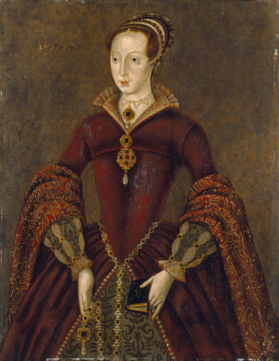 Lady Jane Grey was Queen for just nine days