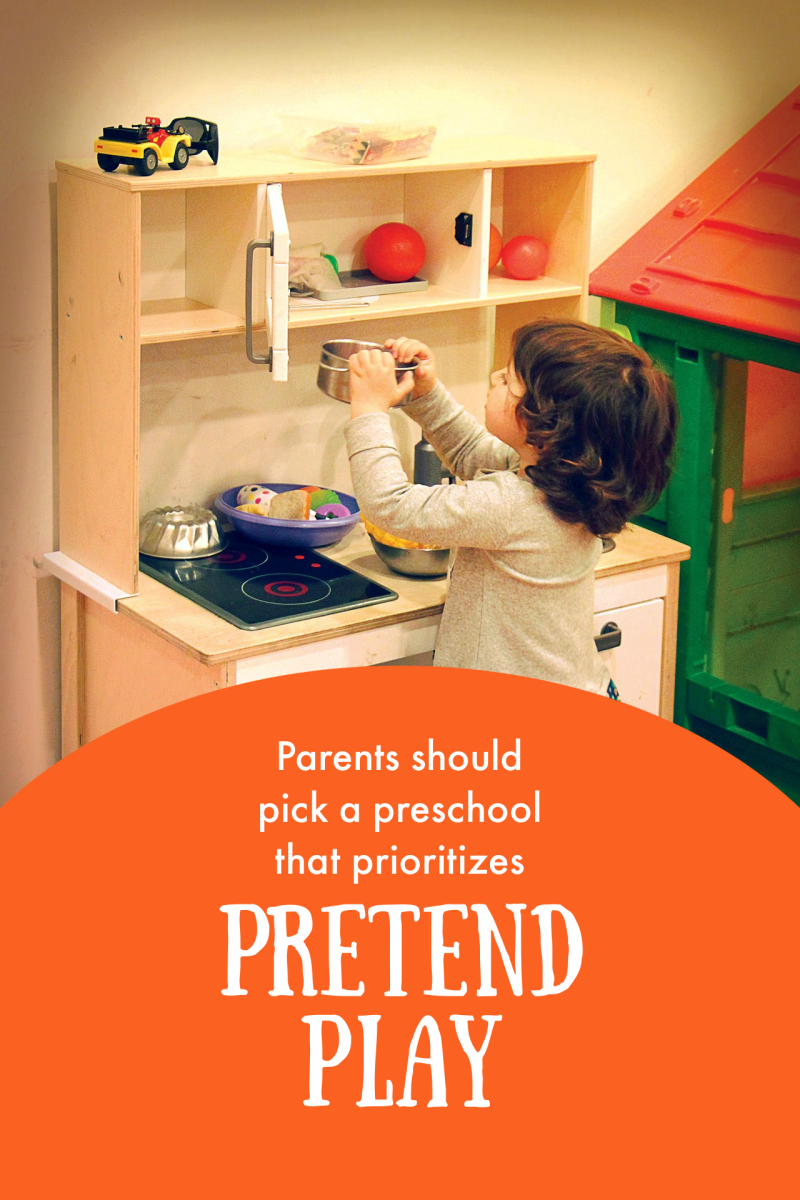 Pretend play is how preschoolers learn best and is far more effective than workbooks, circle time, and other structured activities.
