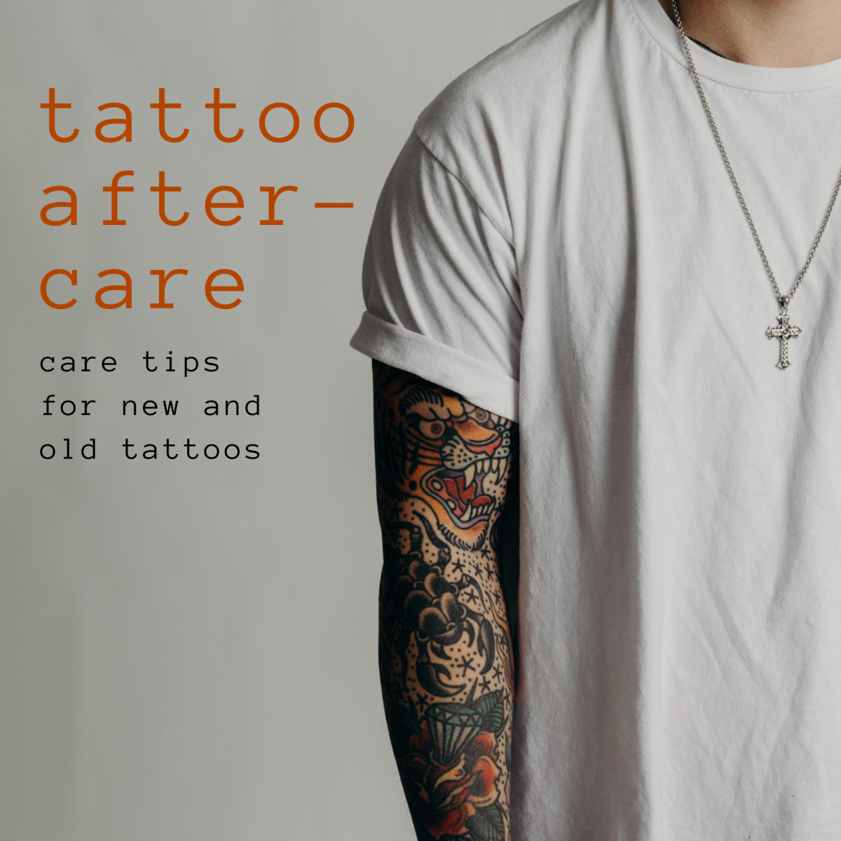 Tattoo aftercare tips to keep new tattoos from looking old.