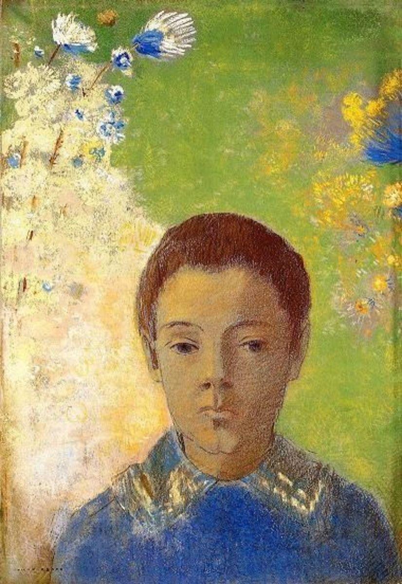 Portrait of Ari Redon, 1898