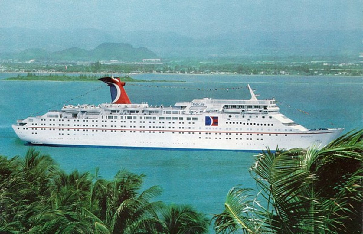 Three Scrapped Carnival Cruise Line Vessels I Fondly Remember