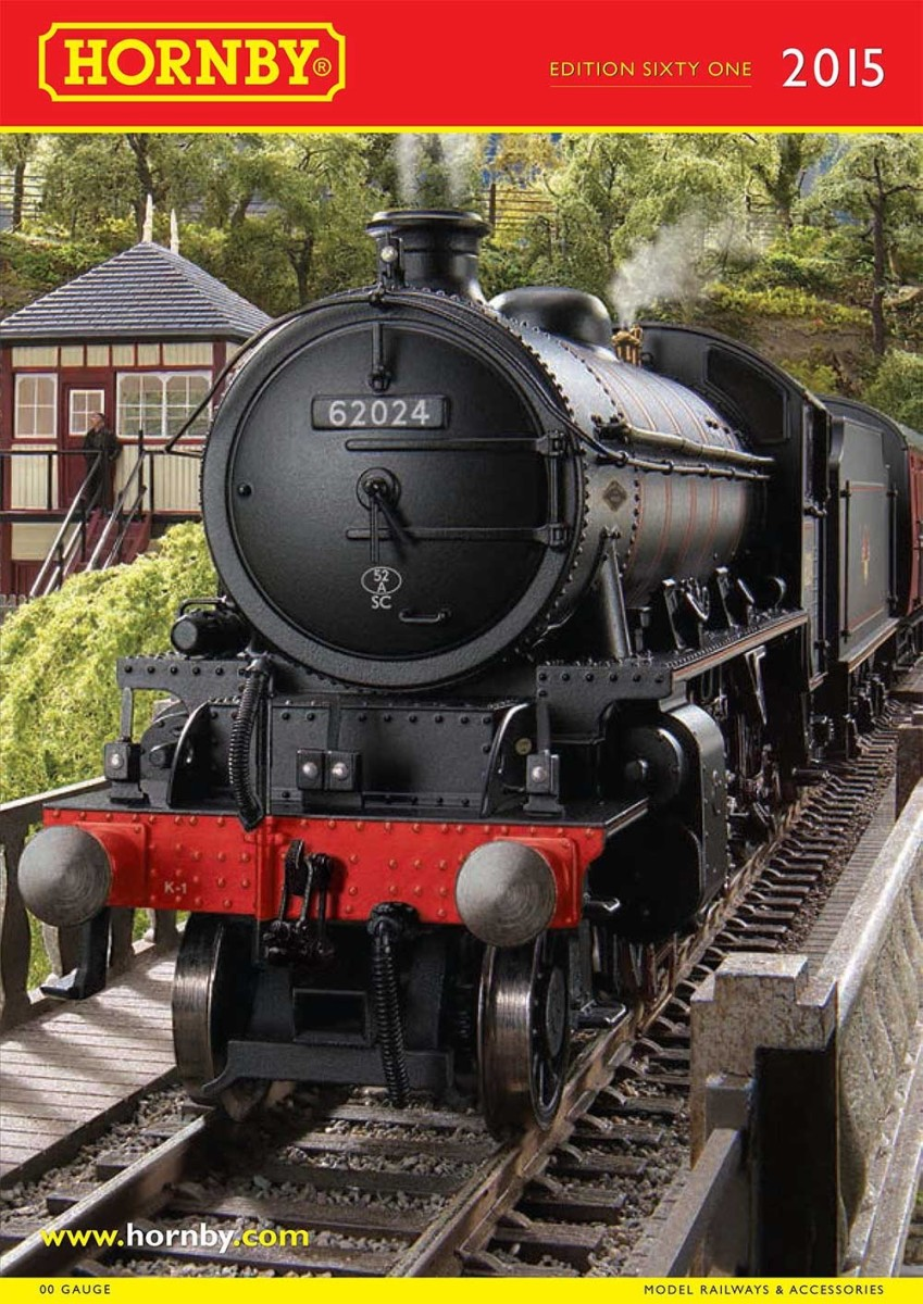Hornby 2015 Catalogue features their new K1  2-6-0 mixed traffic locomotive (just like NELPG's 62005!)