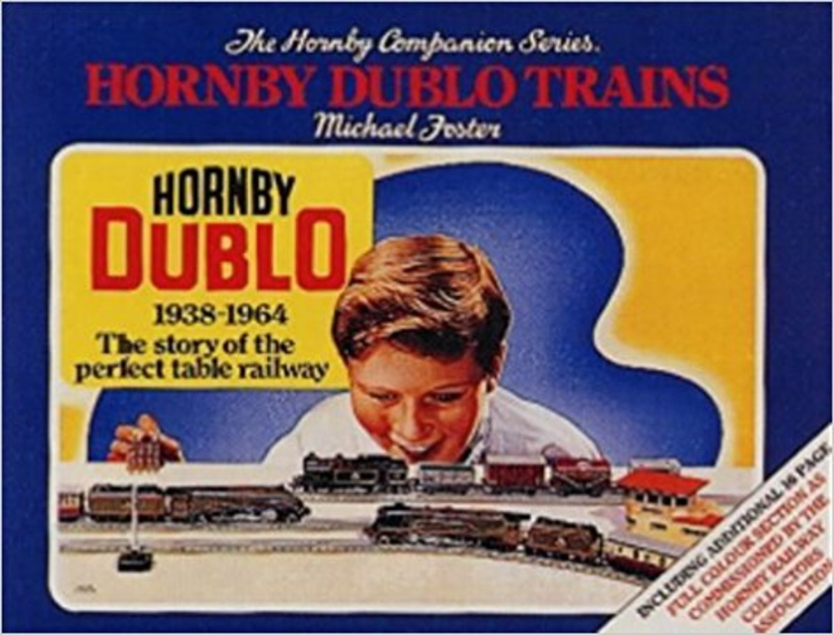 A Companion Guide to Hornby Dublo - feast your misting eyes on these pages if you're of that post-war generation that saw Christmas and Birthday bring forth the blue boxes from the gift wrapping paper. Pure nostalgia - so what's wrong with that?!