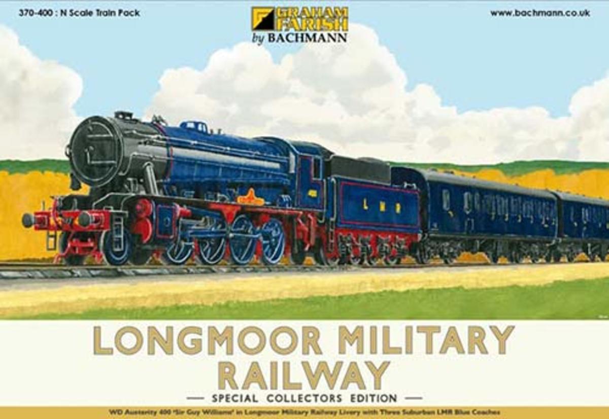 Graham Farish N Gauge Longmoor Military Railway train set