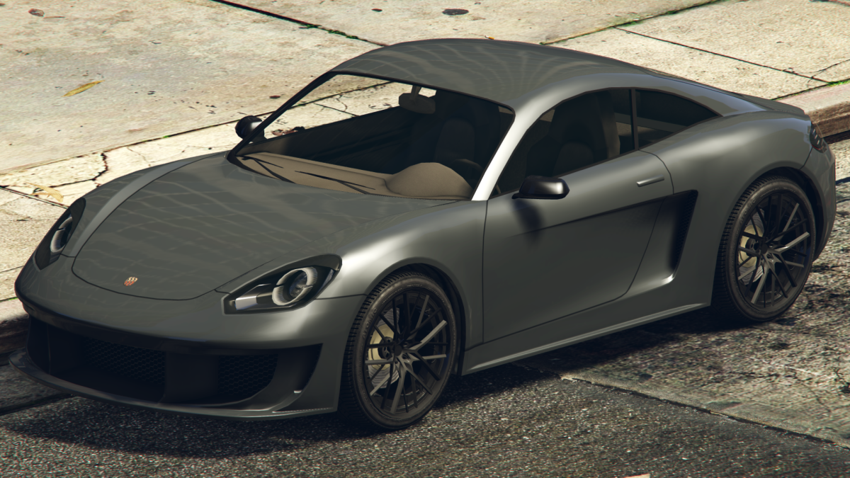 The recently added Pfister Growler, which (not exactly) looks like Porsche 781 Cayman