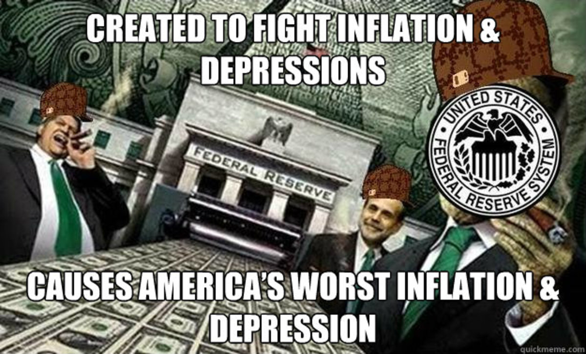 Federal Reserve Drives Inflation and Caused the Great Depression