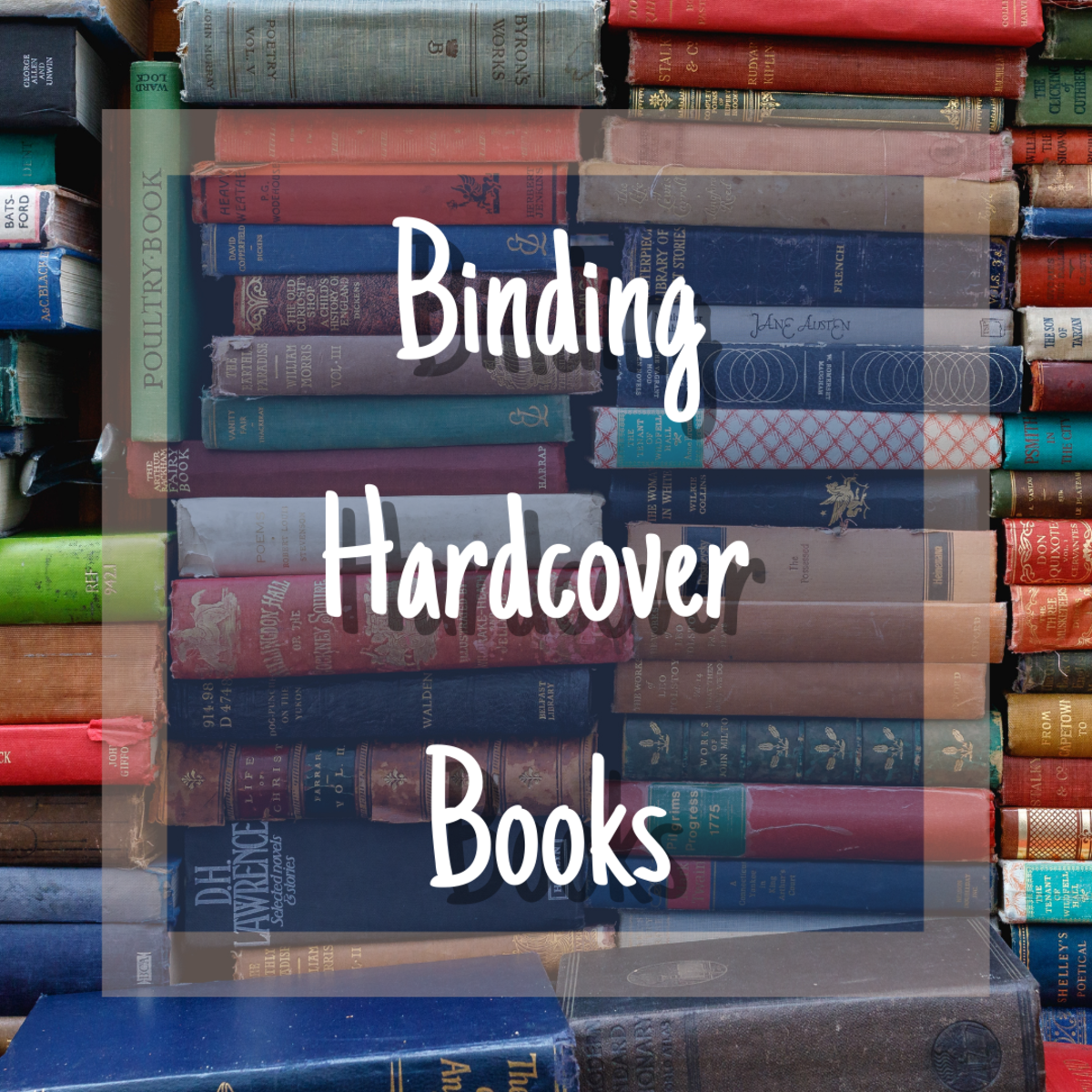 Learn how to bind hardcover books with this detailed, easy-to-follow guide.