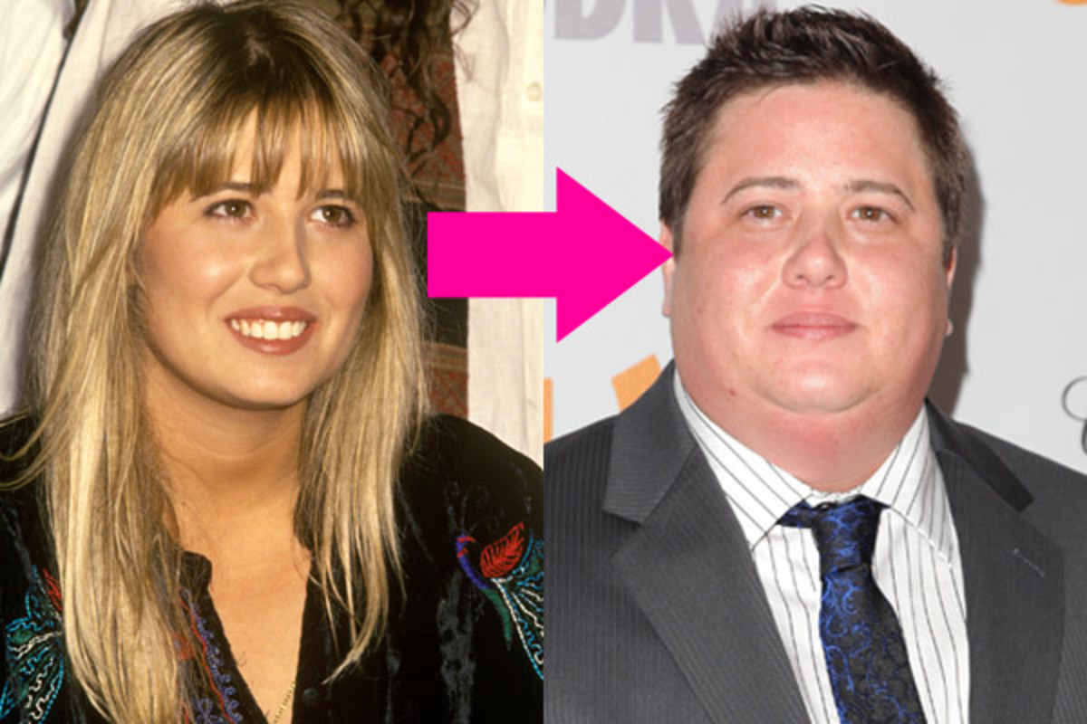 Chastity (Chaz) Bono before and after sex change