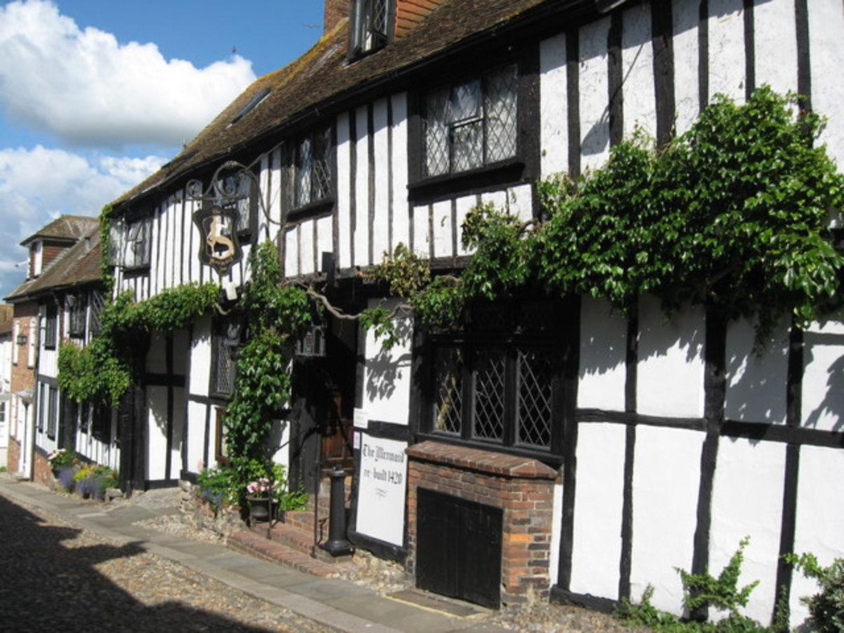 Mermaid Inn & Restaurant in Rye, England