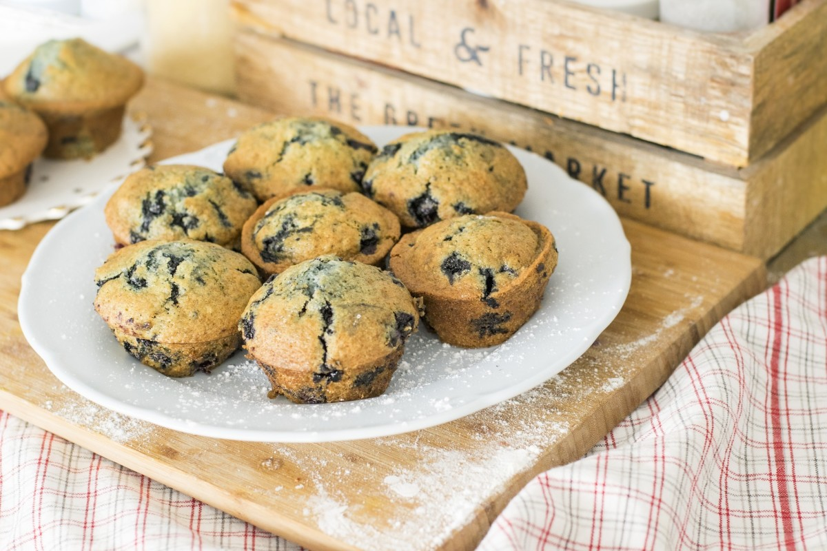 Foolproof Easy Recipe Vegan Light Cupcakes Muffins Perfect Breakfast Snack