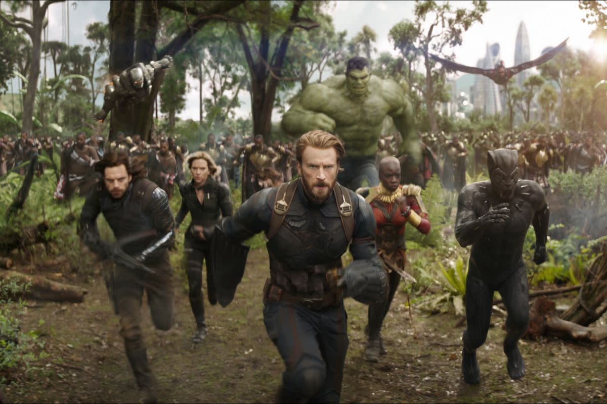 Courtesy of Marvel Studios/Disney.  With the exception of streaming shows, though more modern movies have upgraded the quality of combat, they usually tend to still be measured to how violent they can be.