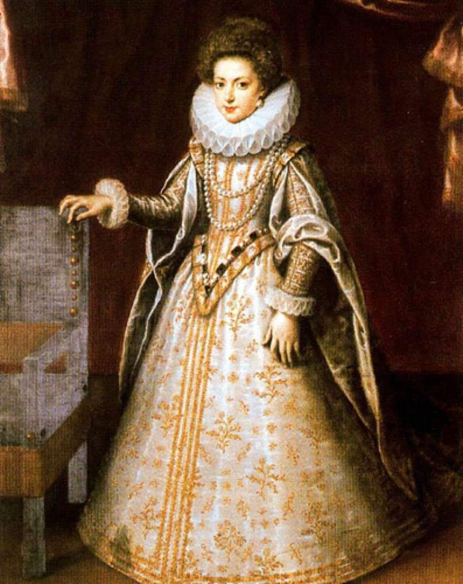 Henrietta Maria of France - for whom Maryland was named