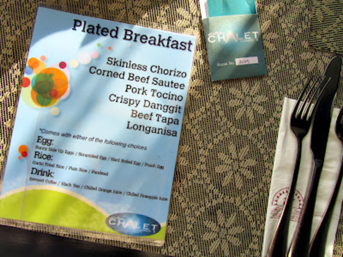 Enjoy a great breakfast in L'Fisher! Surely, this will jump start your day!