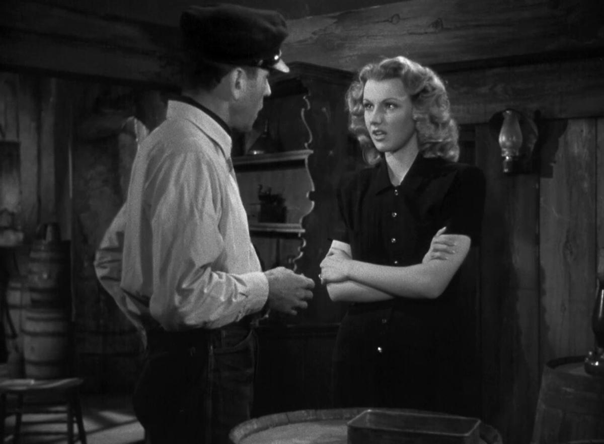 Humphrey Bogart and Delores Moran