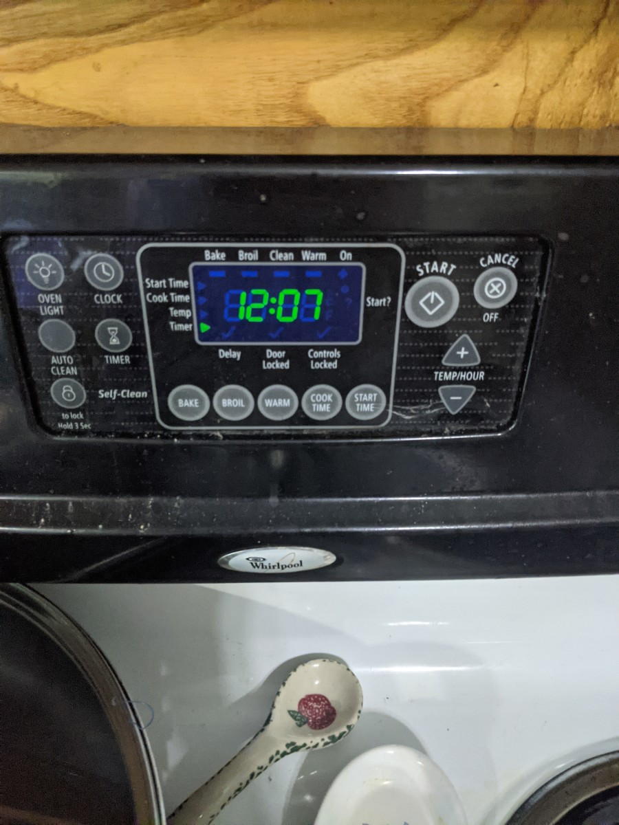set timer for heating up, usually 14 minutes