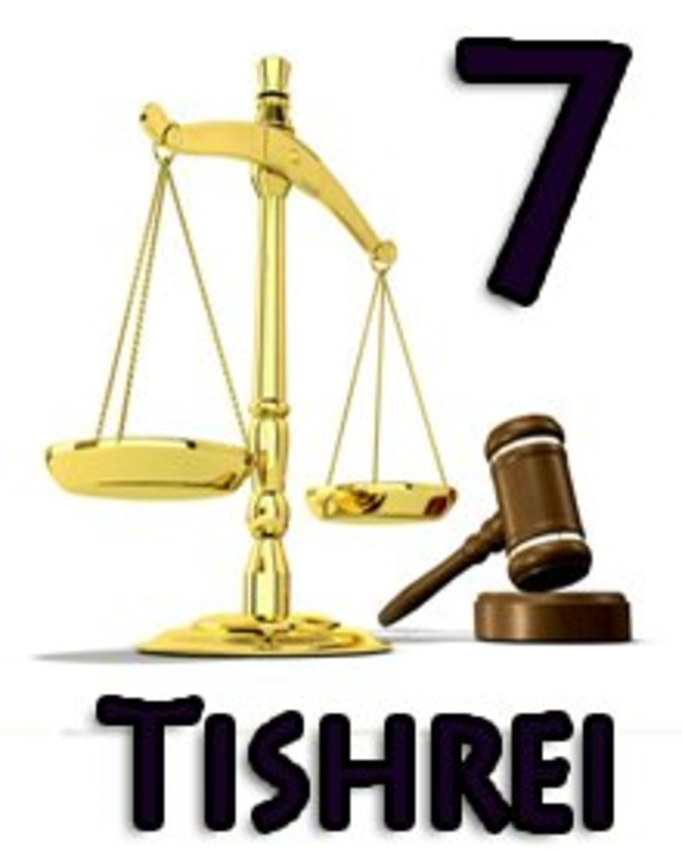 Tishrei is the first month on any Jewish calendar, but in the Torah we see something rather perplexing; it is referred to consistently as the seventh month, not the first.