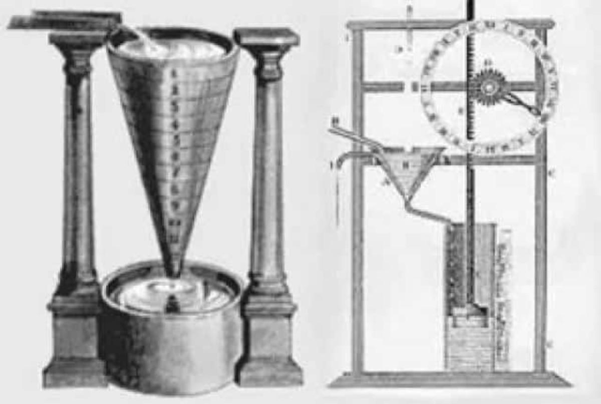A model of Plato's devised alarm clock