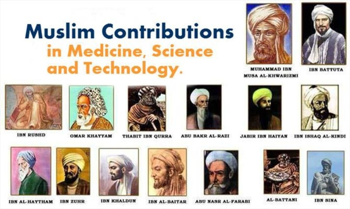 Some important scientific figures of Islamic world