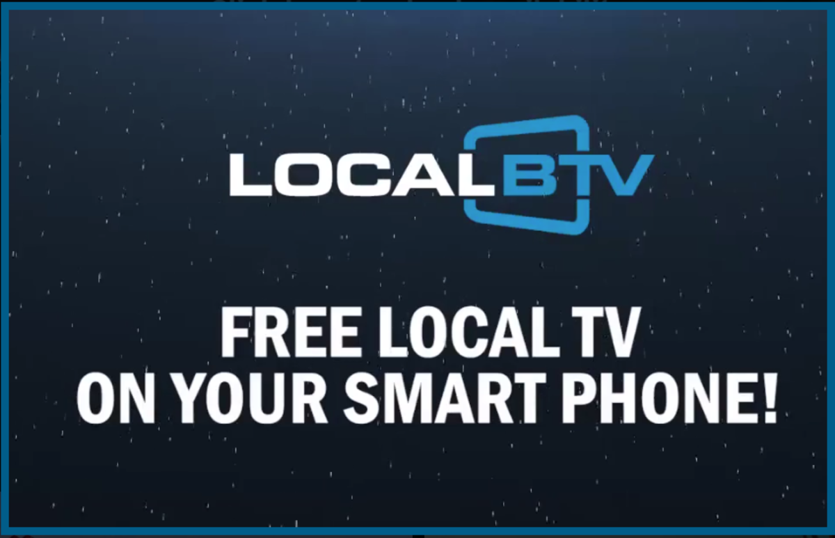 With LocalBTV, you can watch local TV stations on your smartphone or laptop, or by streaming to your TV