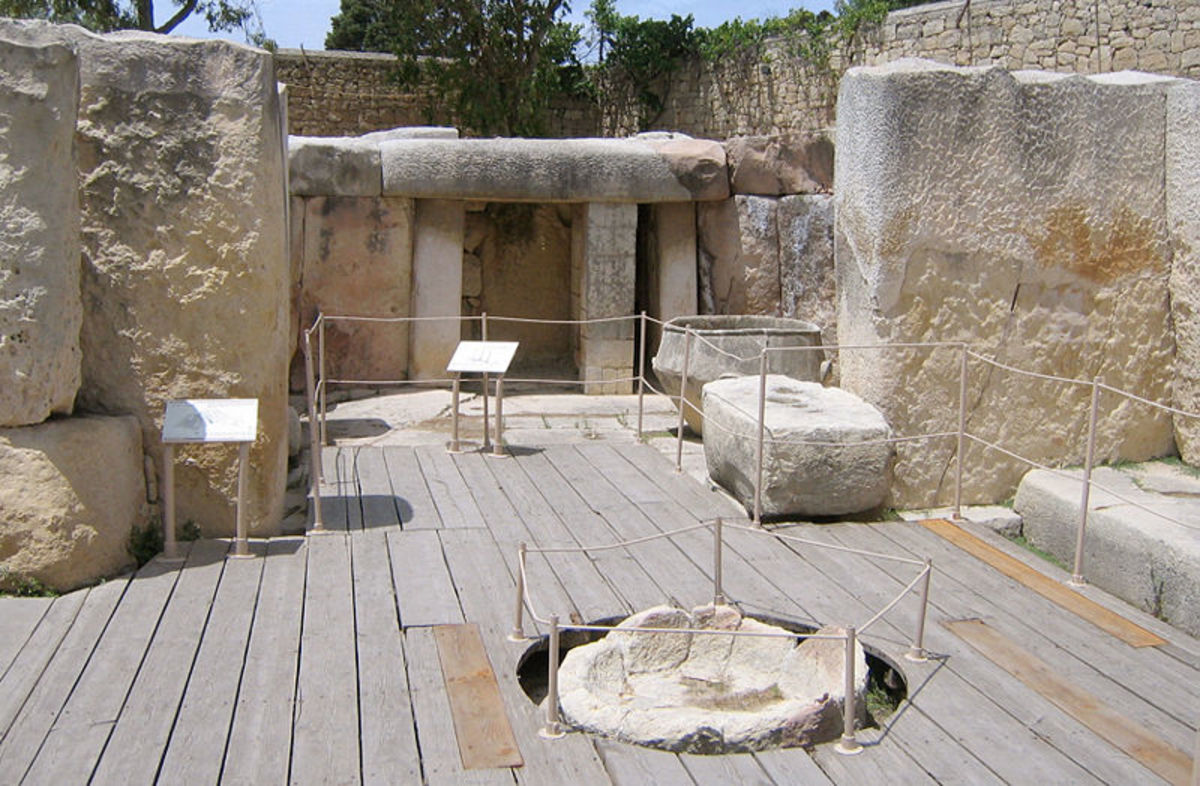 Tarxien phase of monuments