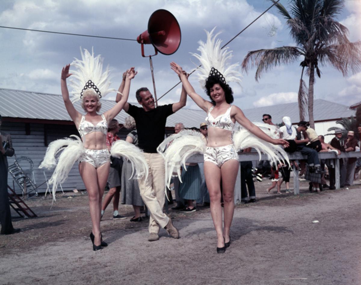 Former Ringling performers at winter quarters in Sarasota.