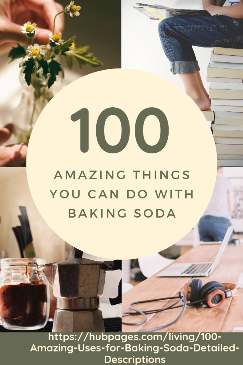 100 Amazing Uses for Baking Soda – Detailed Descriptions