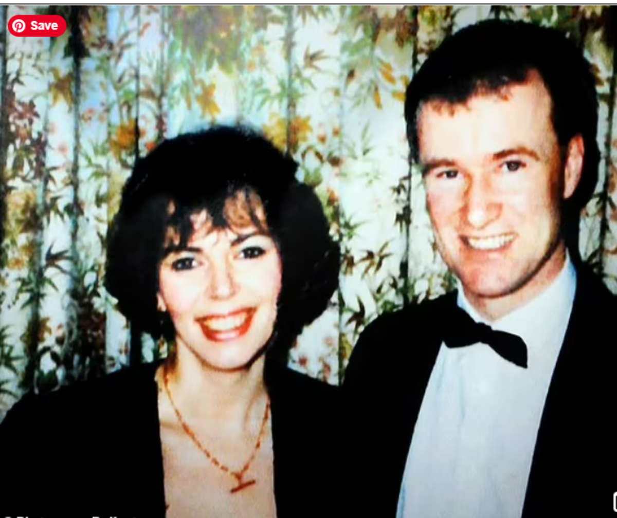 Howell, a religious man, pictured with his wife Lesley before her murder at his hands in 1991. It would be almost 20 years before he was convicted for the crime.