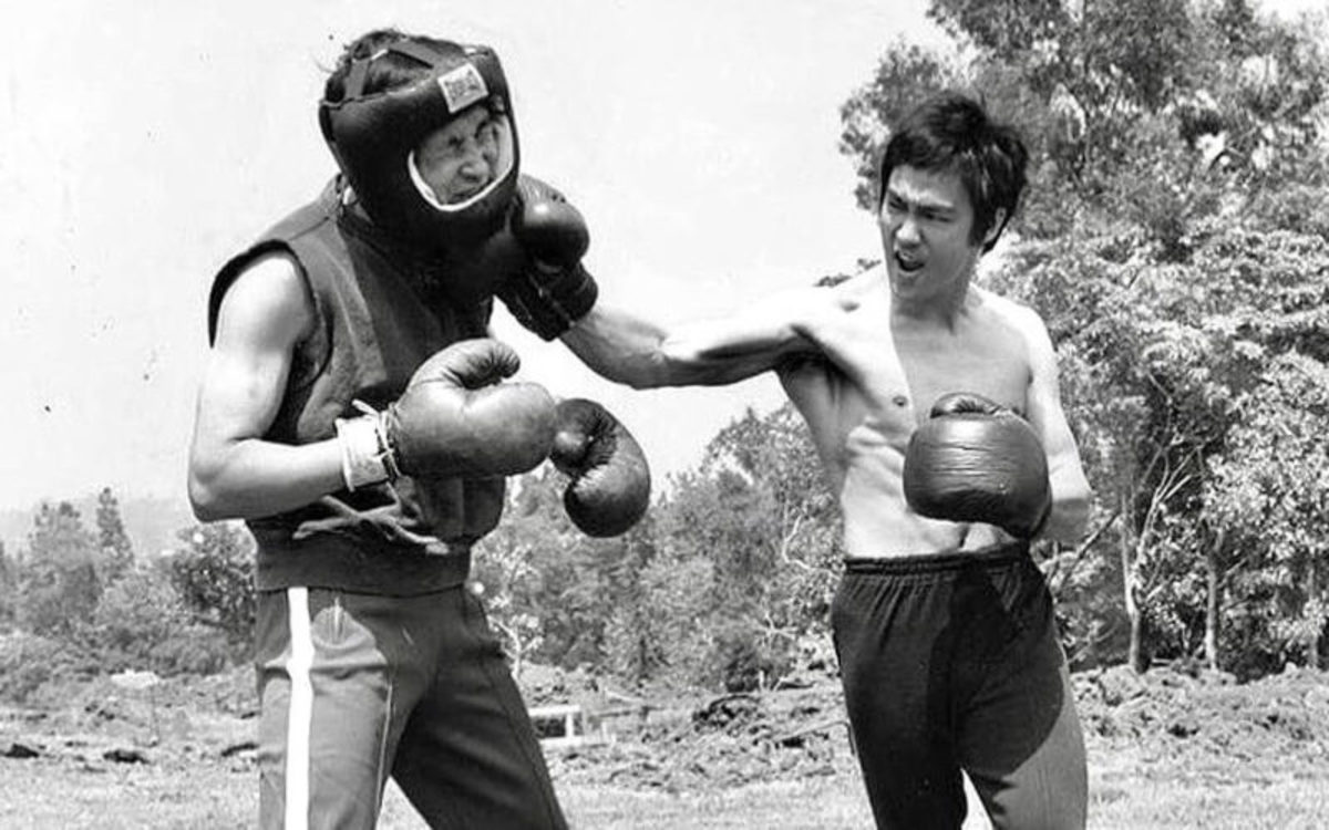 Courtesy of the Jeet Kun Do Institute.  Bruce Lee choose to better condition his body midway through his martial arts career. It reflected in his movies and life and for decades shaped the image of the martial artist stereotype.