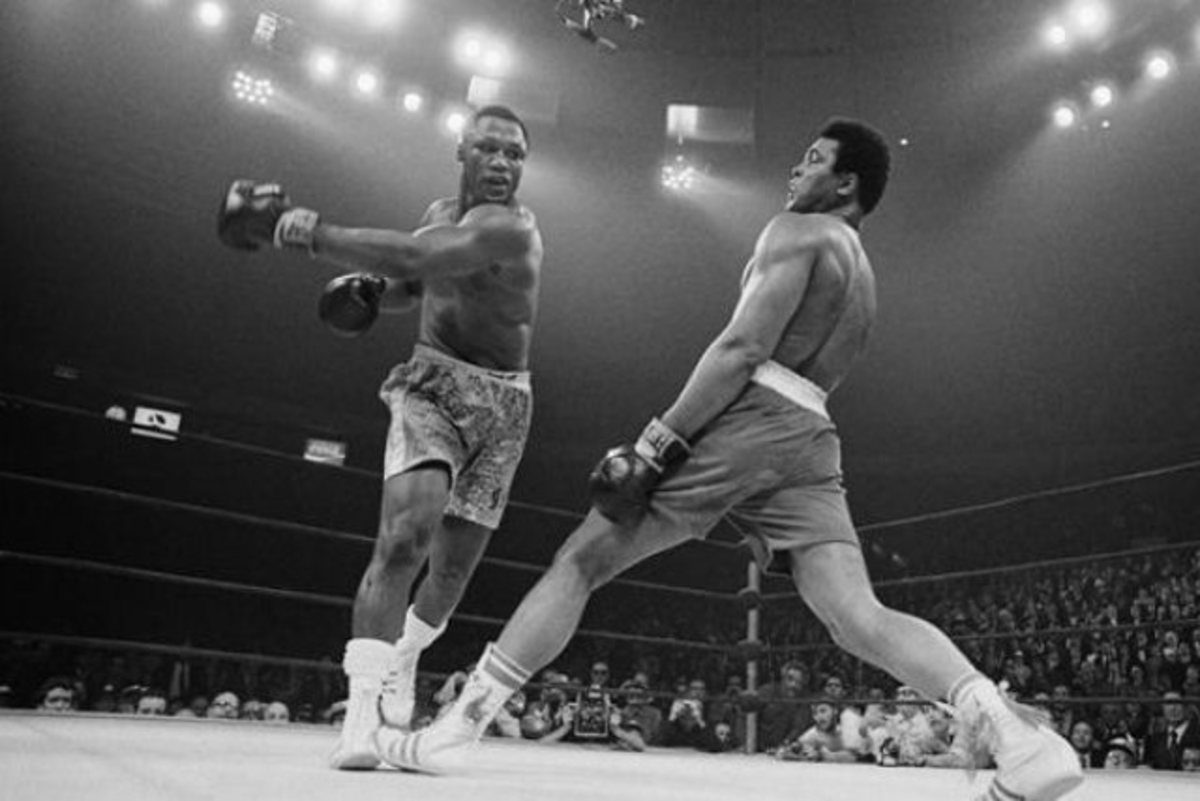 Courtesy of Getty Pictures. Muhammad Ali vs Joe Fraizer. Madison Square Garden, 03/8/1971.  I believe boxers to have the superior stamina because they have to train for stamina and endurance rather than short, violent bursts.