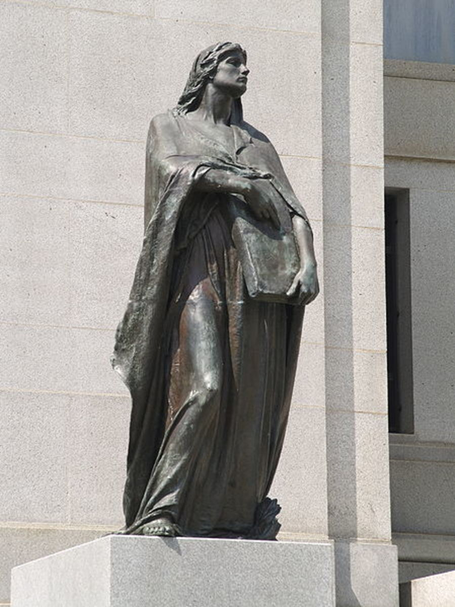 """Truth,"" by Walter Allward, outside the Canadian Supreme Court.  Image courtesy Colin Rose and Wikimedia Commons."