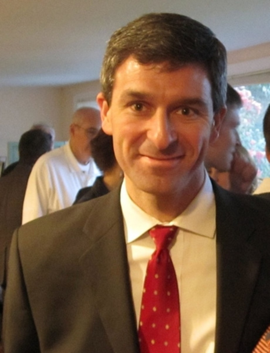 Ken Cuccinelli.  Image Tony Alter and Wikimedia Commons.