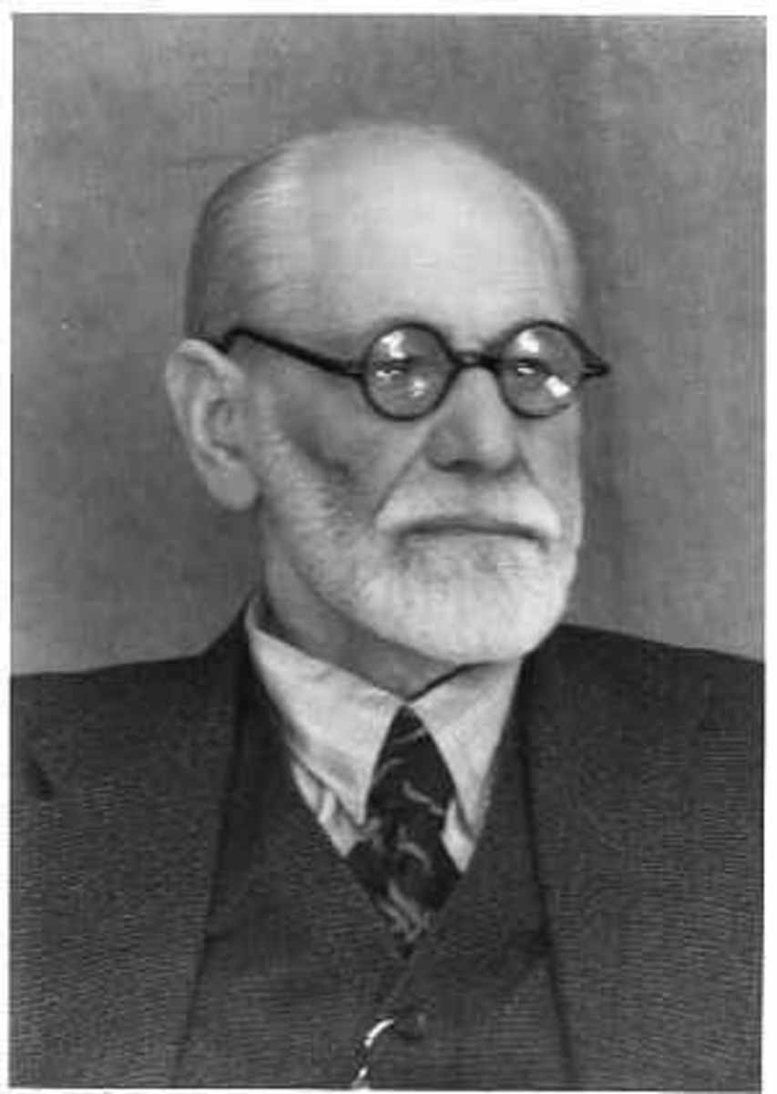 """Sigmund Freud:  """"Sometimes climate change is just climate change.""""  Image courtesy www.all-about-psychology.com & Wikimedia Commons."""