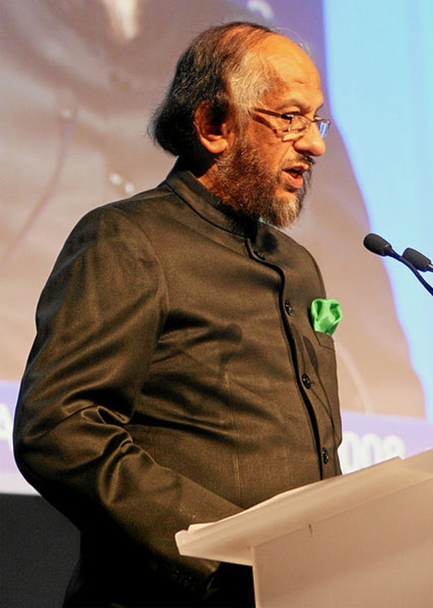 Dr. Rajendra Pachauri.  Photo by Remy Steinegger, courtesy of the World Economic Forum and Wikipedia.